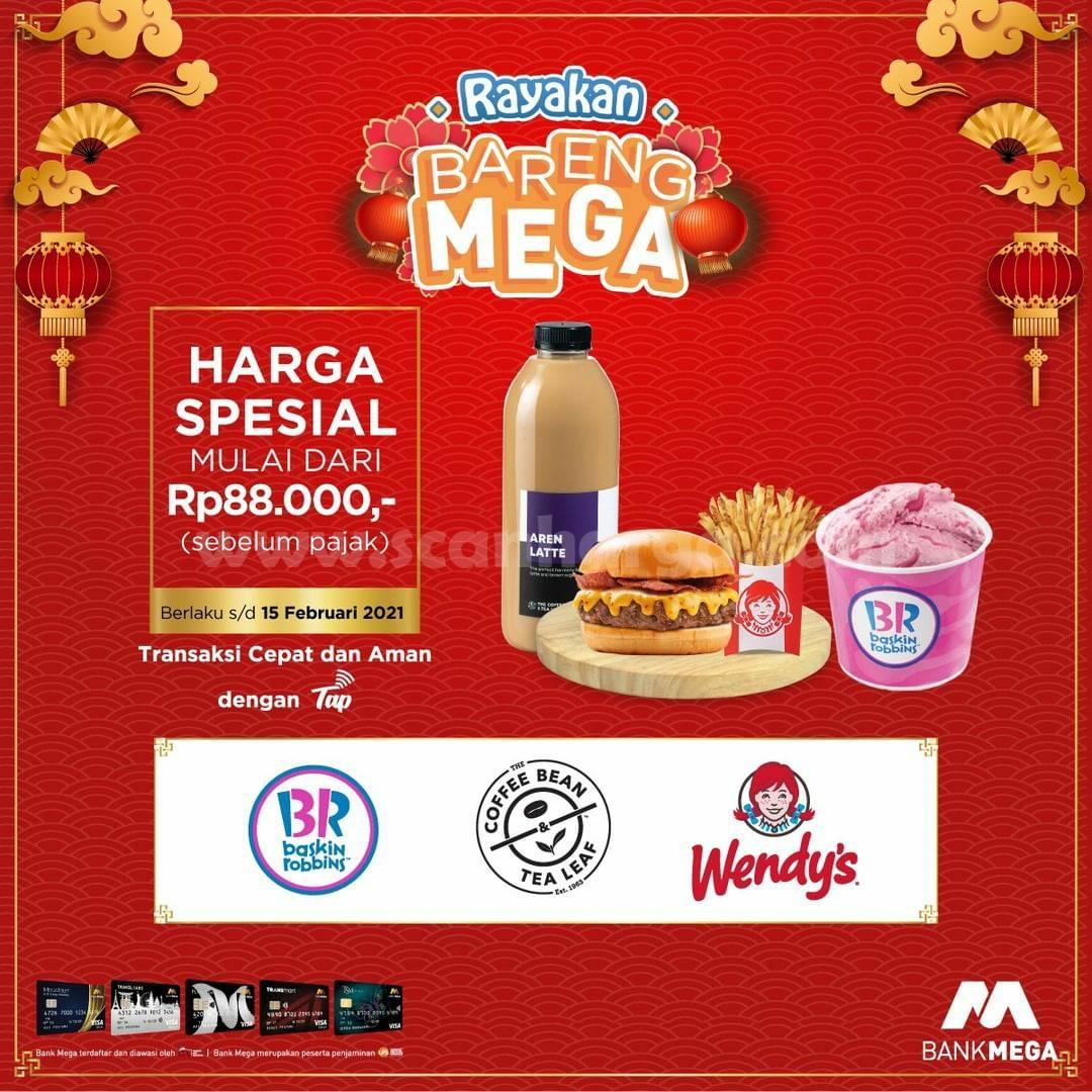 The Coffee Bean Promo Paket IMLEK! hanya 88Ribu Bareng Bank Mega