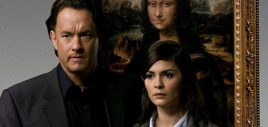 Tom Hanks şi Audrey Tautou în Codul Lui DaVinci