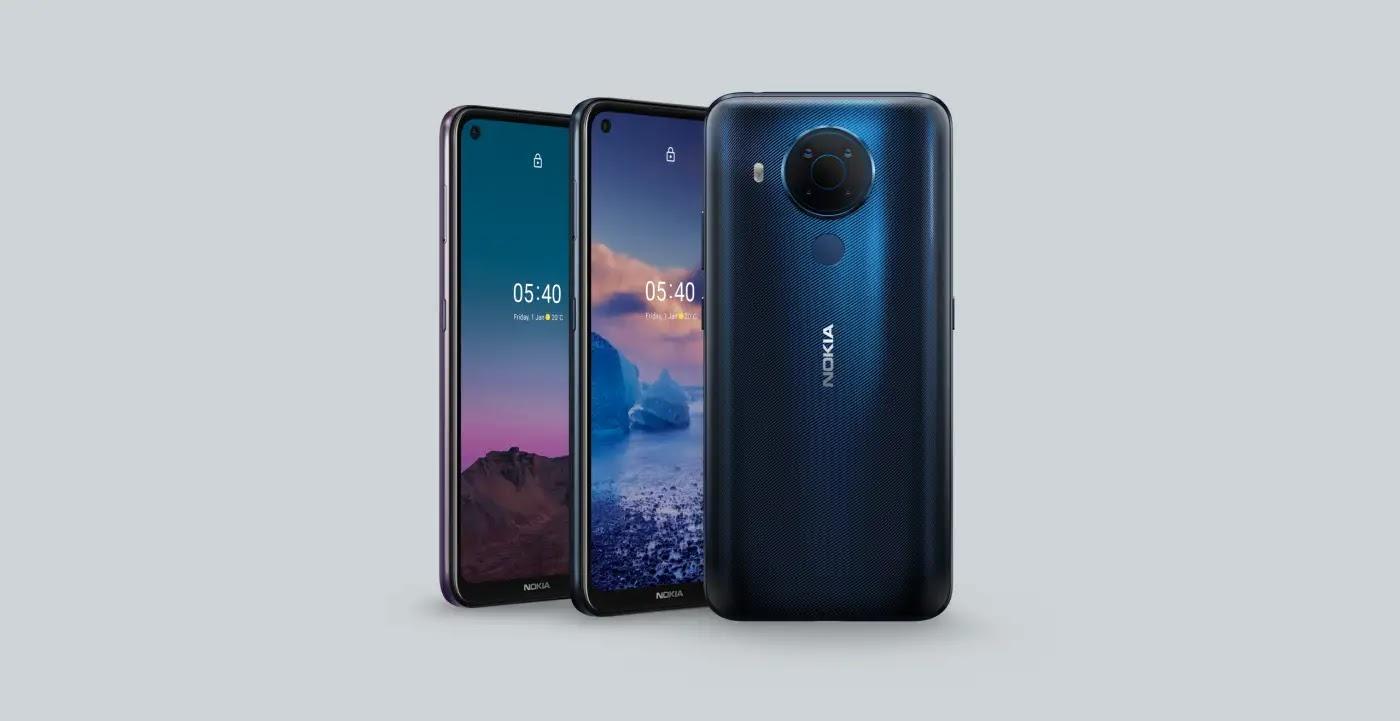 Nuovo Nokia 5.4, cinque cam, HD+ e 4.000 mAh a 229 euro
