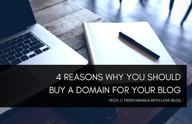 why you should have a domain for your blog