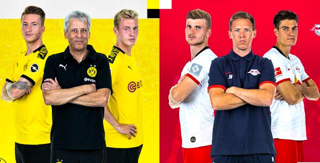 Confirmed Borussia Dortmund vs RB Leipzig Line-Ups