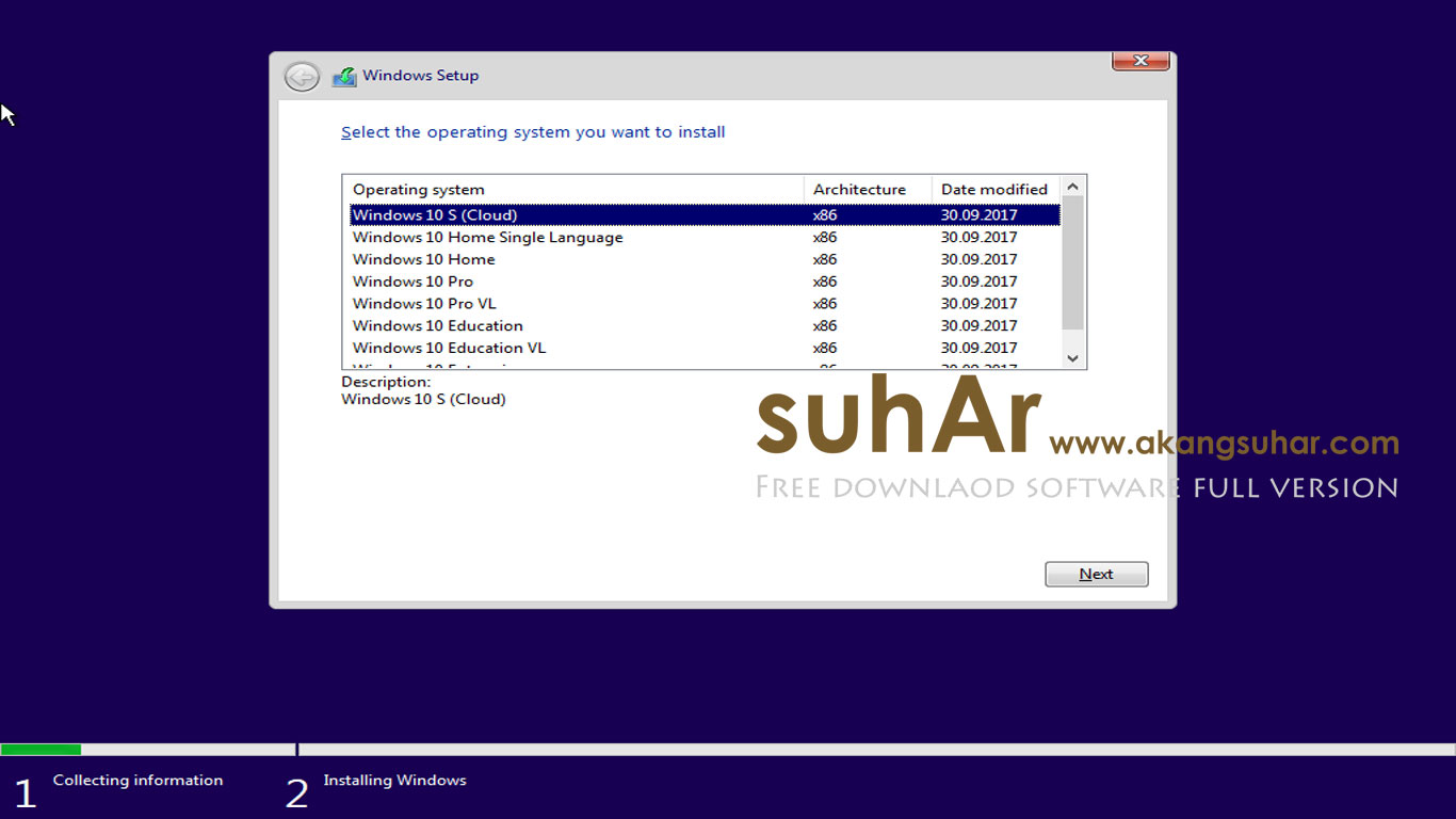 Windows 10 Rs3 AIO full version terbaru