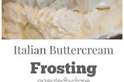 Italian Buttercream Frosting