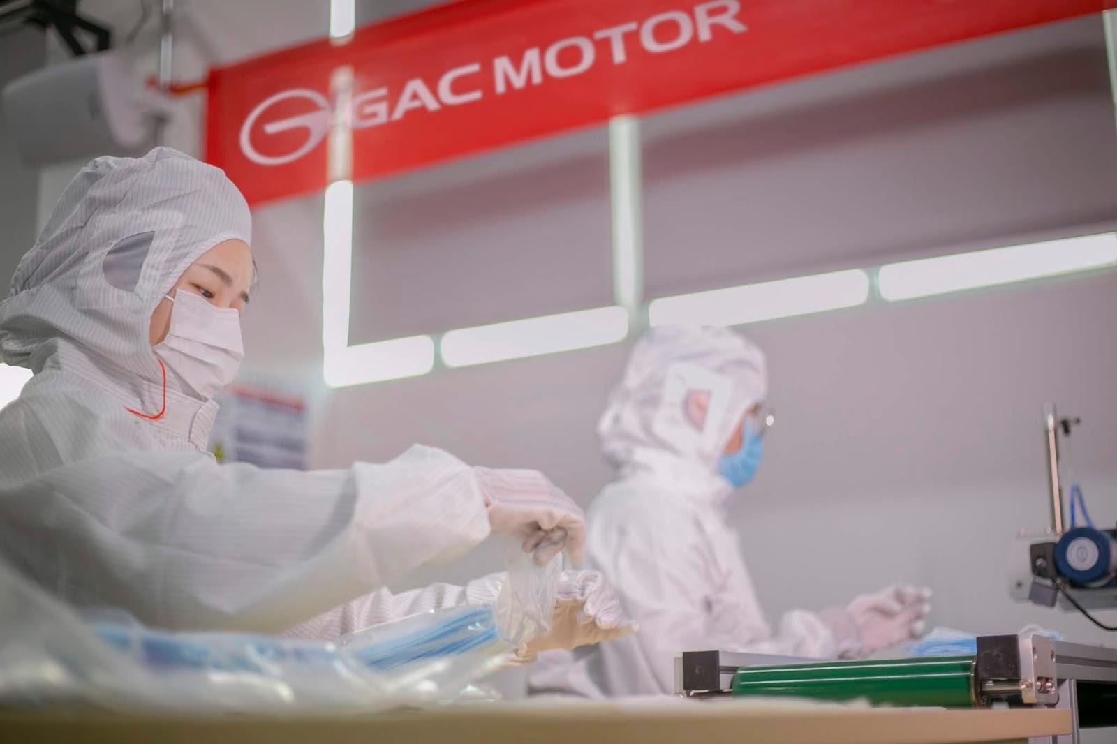 Gac Group se suma a la emergencia mundial por el Covid-19 con la producción de mascarillas para donación