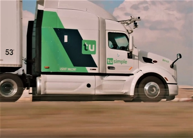 USPS and TuSimple test postal service with autonomous trucks