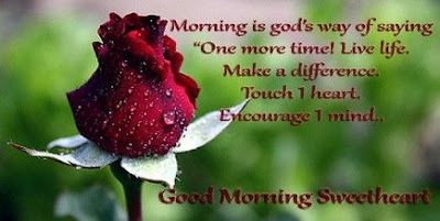 Good Morning Quotes For Best Friend: morning is god's way of saying one more time! live life,