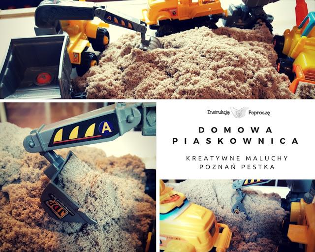 Domowa piaskownica - Kinetic Sand