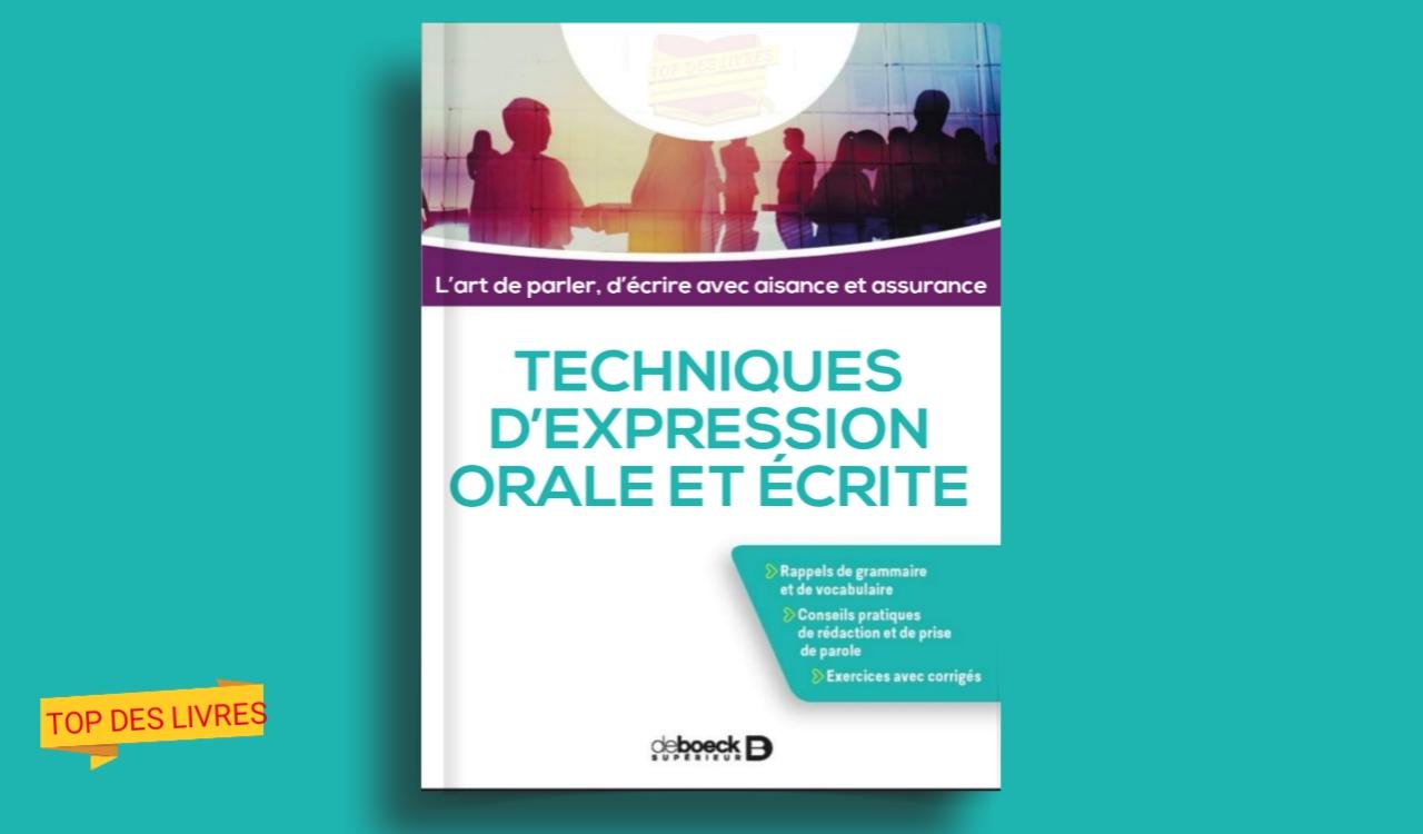 Télécharger : Technique d'expression orale et écrite en pdf