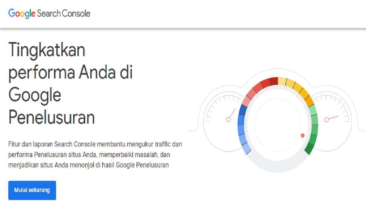 Google Search Console-Tools untuk mengetahui ranking artikel di google