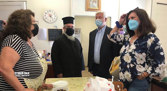 Το Εκκλησιαστικό Συμβούλιο Ευαγγελιστρίας Ναυπλίου για το κτίριο Συσσιτίου και την επίσκεψη Τατούλη