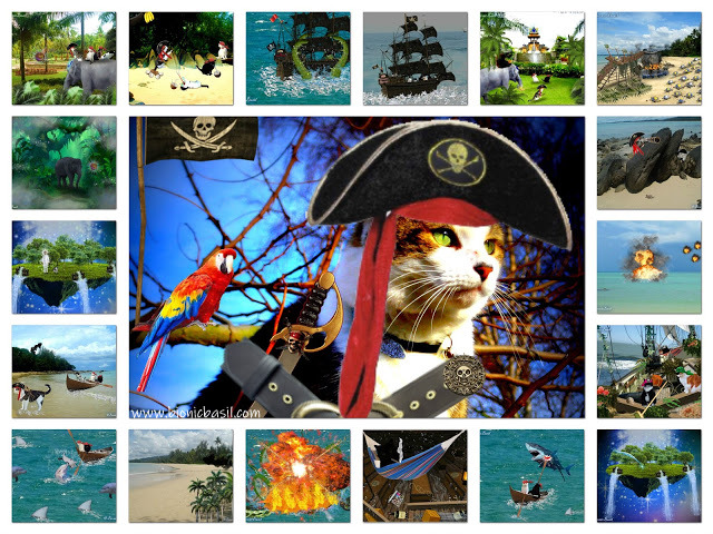 The Extraordinary Voyages of Cap'n Basil Blackheart ©BionicBasil® Pirate Tales