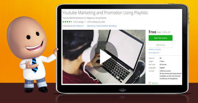 [100% Off] Youtube Marketing and Promotion Using Playlists| Worth 30$