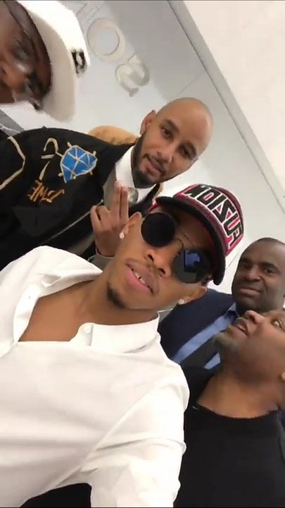 Tekno, Ubi Franklin hang out with Swizz Beats, others ahead of Sony Deal contract