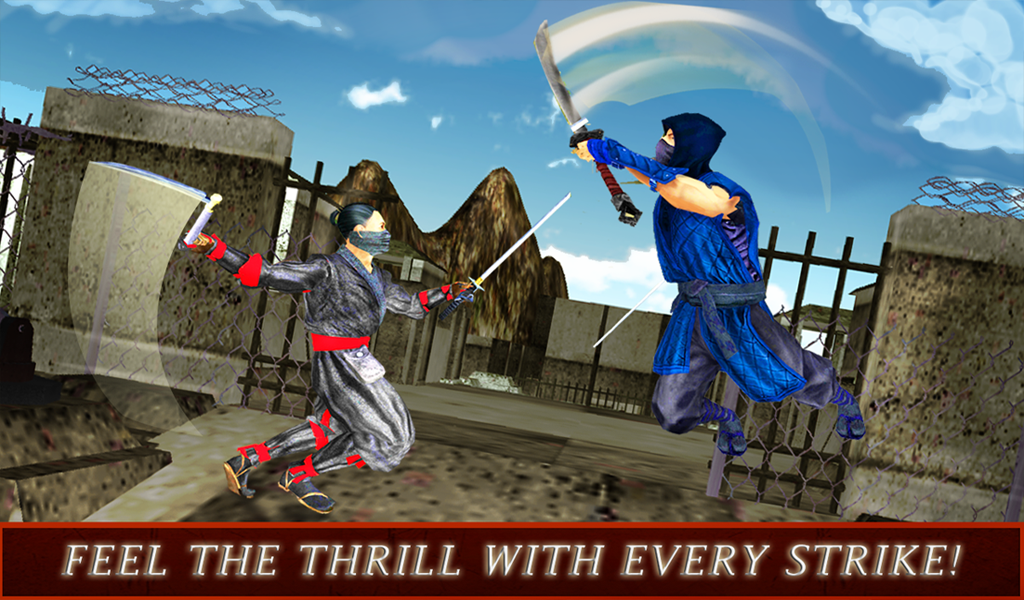 Game Android Ninja Warrior Assassin 3D Apk ~ GETPCGAMESET