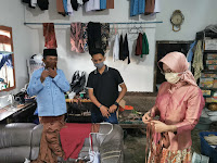Masker Cegah Penularan Covid19, Tantri Andalkan Karya Masyarakat Desa