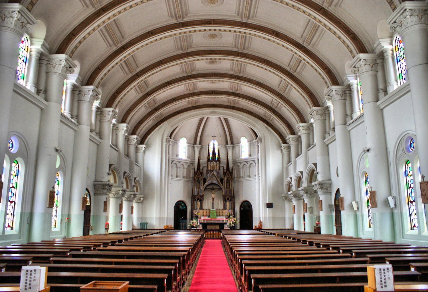 Nakamachi Catholic Church, Nagasaki.
