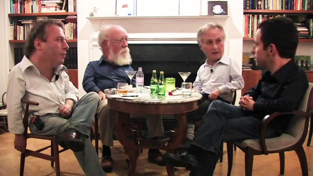En imágenes: mundo cabezón - Los cuatro jinetes del ateísmo; Christopher Hitchens, Daniel Dennet, Richard Dawkins, Sam Harris | Ximinia