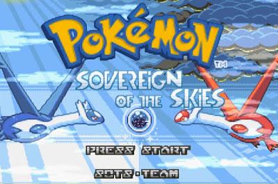 Pokemon Sovereign of the Skies para GBA Imagen Portada