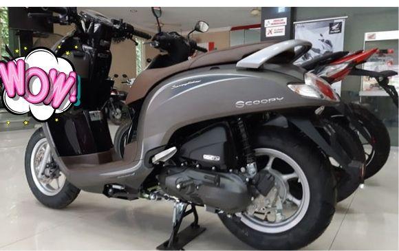 Honda Scoopy-Spesifikasi Motor Favorit Anak Muda