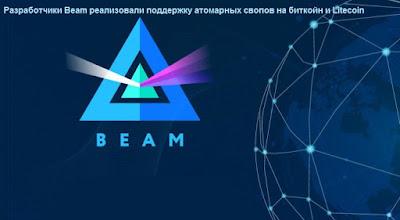Разработчики Beam реализовали поддержку атомарных свопов на биткойн и Litecoin