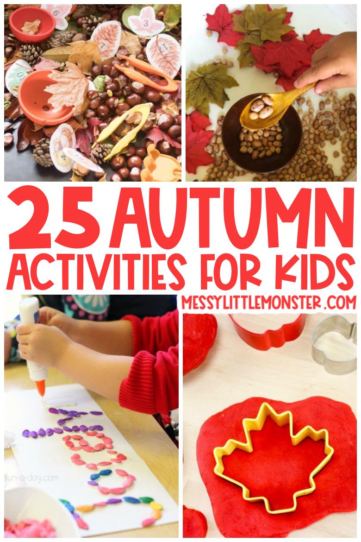 25 Autumn Activities for Kids