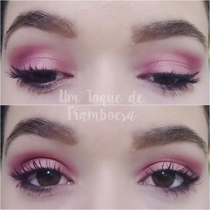 Tutorial de maquiagem para a noite cor rose gold