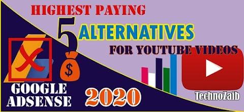 Top 5 Best Google AdSense Alternatives for YouTube Videos