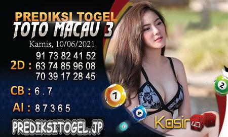 Prediksi Kasir4D Togel Macau Kamis 10 Juni 2021