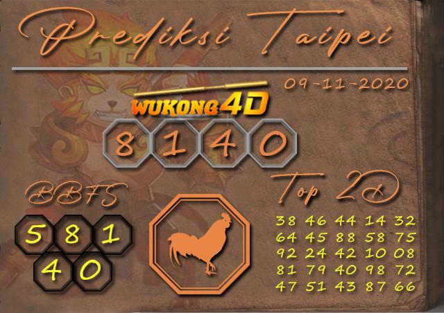 PREDIKSI TOGEL TAIPEI WUKONG4D 09 NOVEMBER 2020