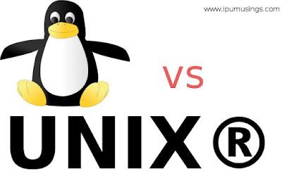 IPU BCA Semester 6 - Linux Environment - Linux vs Unix