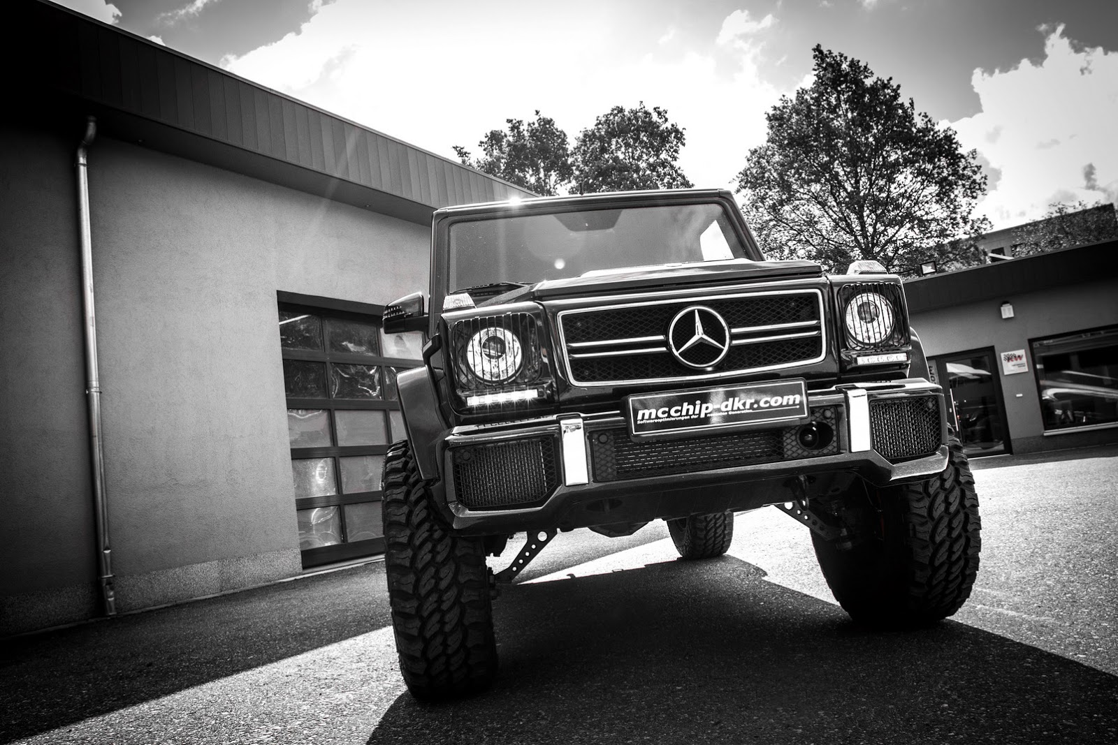 Photo Wallpaper Car Sound System Mcchip Turns Mercedes Benz G63 Amg Into 4x4 178 Of Sorts