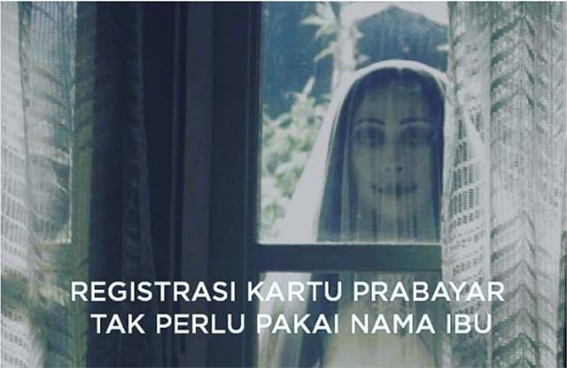 Registrasi Kartu Prabayar Tanpa Nama Ibu Kandung