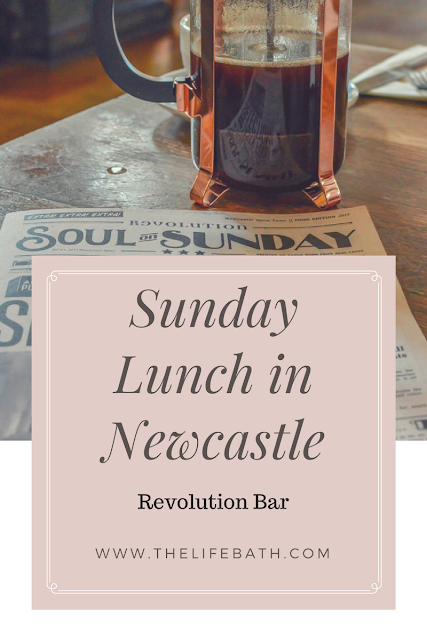 Sunday Dinner in Newcastle - Revolution Bar