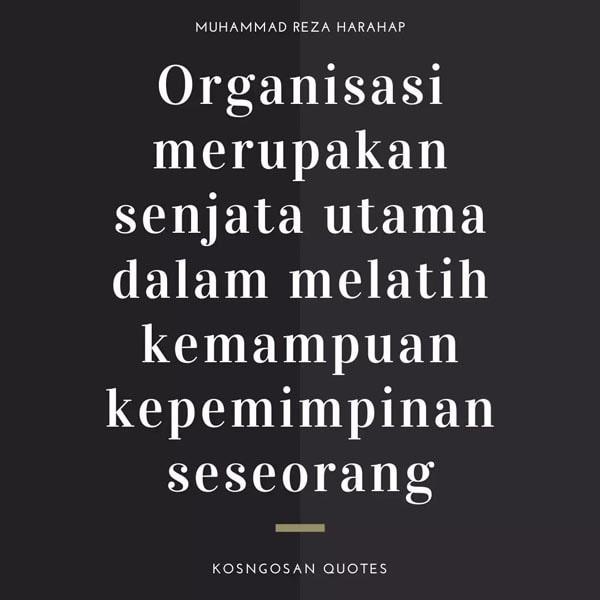 Kata Bijak Organisasi Pmii