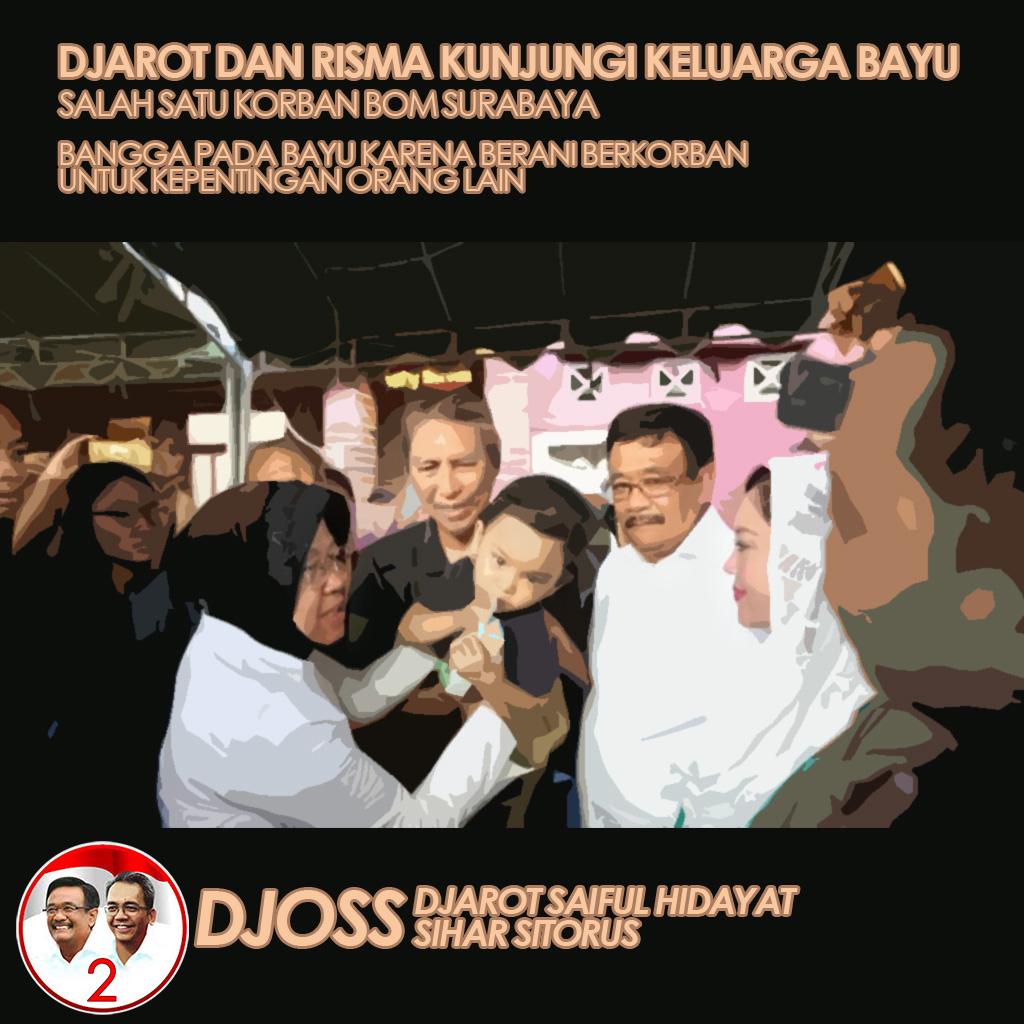 Kunjungi Rumah Korban Bom Surabaya, Ini Kata Djarot