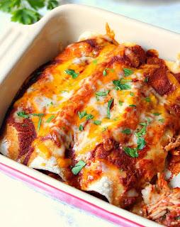 The Best Chicken Enchiladas