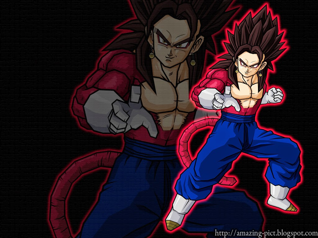 Vegetto Super Saiyan 4 Wallpaper Amazing Picture
