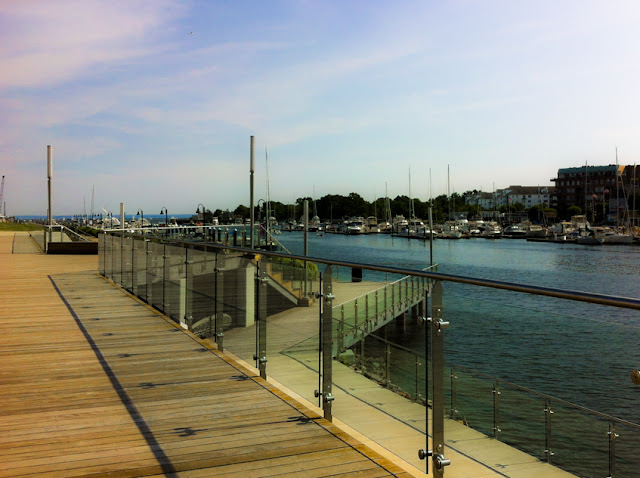 Harbor Point Boardwalk, Stamford CT