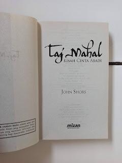 1 Taj Mahal Kisah Cinta Abadi - John Shors