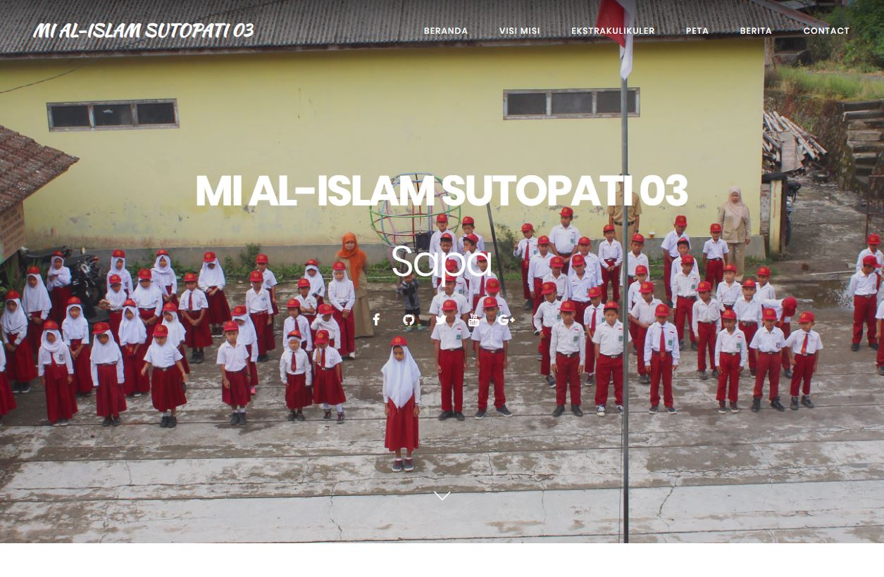 Website MI AL-ISLAM SUTOPATI 3 By ROMOCODE