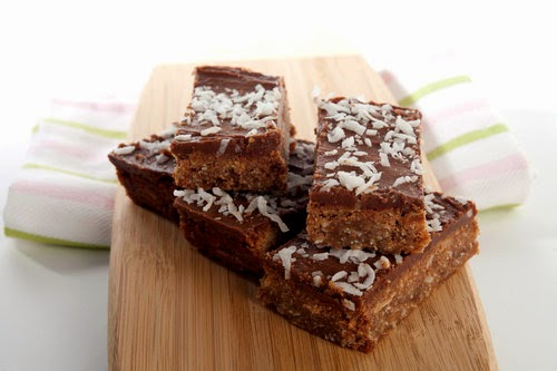 Chocolate and Coconut Slice Recipe