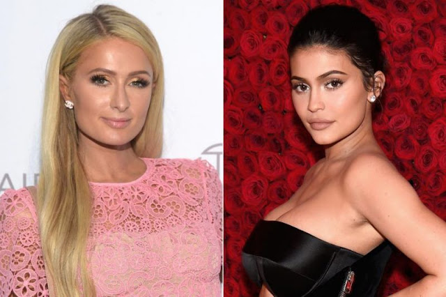 Paris Hilton and Kylie Jenner SELF-MADE. BillionaireGambler.com