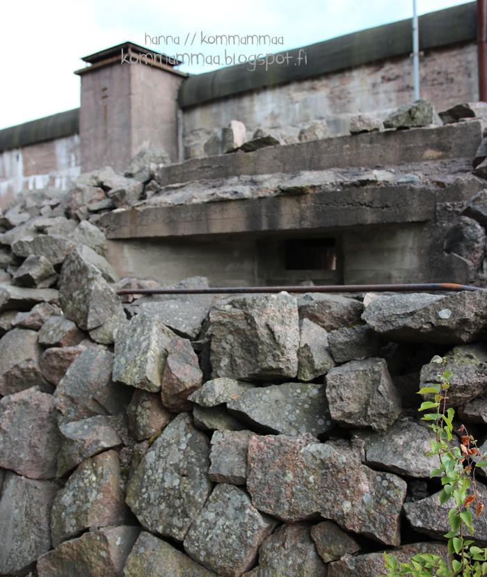 örö kesä veneily kivikasa bunkkeri sota-aika