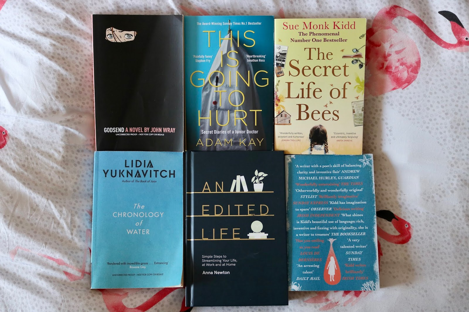 What I've Read (So Far) in 2019