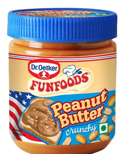 Dr oetker peanut butter / Funfoods Peanut Butter Crunchy, 400g