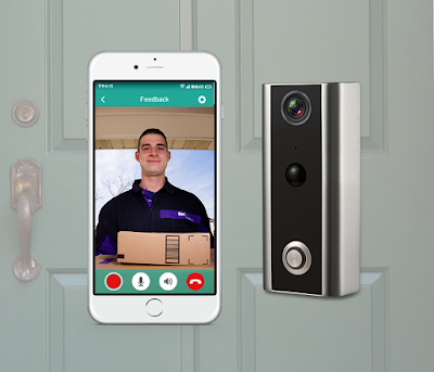 Xchime Doorbell: Protect your house with a smart live video camera.