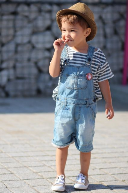 Denim Comfortable Kid Outfits Image 7