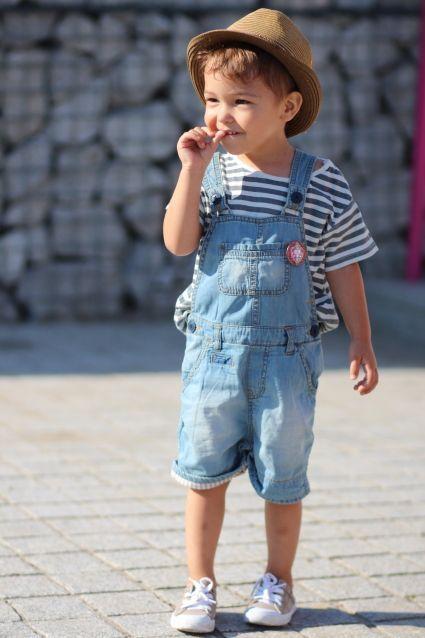 Denim Comfortable Kid Outfits Image 7