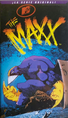 the Maxx, Sam Kieth,  Bill Messner-Loebs, MTv, VHS