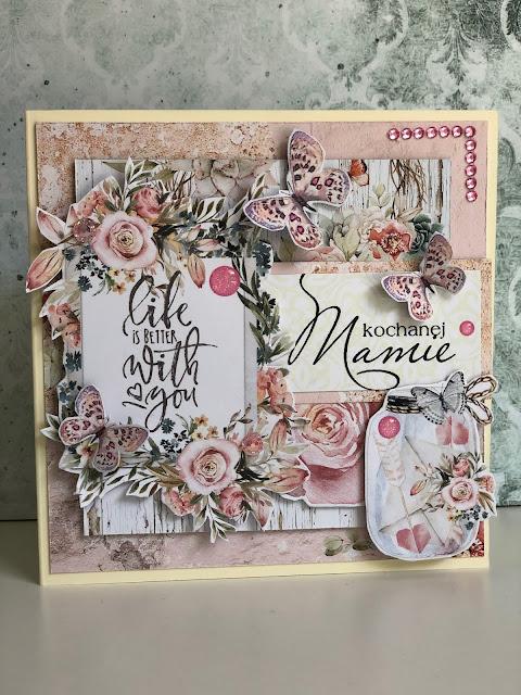 Kartki Ręcznie Robione na Dzień Matki